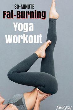 30-Minute Fat Burning Yoga Workout | Avocadu.com