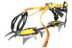crampons en acier 12 pointes. système adaptable sur l'ensemble des chaussures, y compris de randonnées. poids : 850g