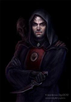 The Elder Scrolls,фэндомы,TES art,Oblivion,Люсьен Лашанс,Мать Ночи,TES Персонажи