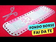 Tutorial FONDO per BORSE A UNCINETTO FAI DA TE | Katy Handmade - YouTube