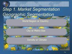 Density or Climate City or Metro Size World Region or Country Step Market Segmentation Geographic Segmentation. Market Segmentation, Consumer Marketing, Marital Status, Brand Management, What It Takes, How To Run Longer, Entrepreneurship, Behavior, The Neighbourhood