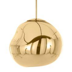 Lámpara colgante TOM DIXON Melt Mini oro #material #iluminacion #interiorismo #diseño