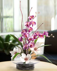 Got a black thumb? Keep your blooms with artificial plants like this Magnolia & Orchid combination forever from silkflowers.com. Get free shipping for 10% off with discount codes here: www.couponfinder.com/s/639496/Silkflowers-coupons?xtrnl=pinterest