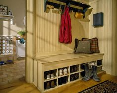 Likeness of simple mudroom storage unit for kids stuffs