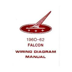 1968 ford mustang wiring diagram images 1960 1961 1962 ford falcon electrical wiring diagrams schematics
