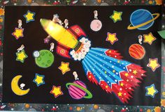 Best Board Ever! The kids are astronauts