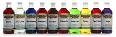 Hawaiian Shaved Ice Snow Cone Syrups 10 Delicious Flavor Pack Bottles NEW Snow Cone Syrup, Snow Cones, Hawaiian Shaved Ice, Baking Supplies, Kitchen Supplies, Skinny Cow, Ice Cream Mix, Ice Shavers, Ice Cream Flavors