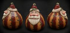Santa Gallery - Bev's Hand Crafted Gourds