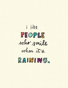 People who smile