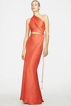 Ralph Rucci Resort 2014 Fashion Show Coral Fashion, Cute Fashion, Fashion Show, Fashion Dresses, Fashion News, Runway Fashion, Vestido Dress, Vogue, Turquoise