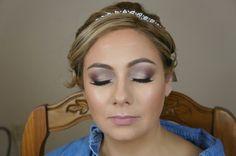 Bridal makeup look by @airbrushedbyemily (me) #weddingmakeup #bridal #bridalmakeup #wedding #makeup #makeuplover #makeuptutorial #eyemakeup #smokeyeyes #toofaced