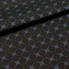 Nordisch chic wird das Nähprojekt mit dem Stoff aus Leinen- und Baumwollmix in Nachtblau mit dezentem Blumenmuster. Louis Vuitton Damier, Pattern, Floral Patterns, Linen Fabric, Cotton, Patterns, Model