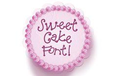 Sweet Cake Font. Script Fonts. $9.00
