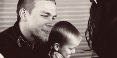 Pin for Later: The Hands-Down Hottest Jax Teller Moments on Sons of Anarchy And holds their baby when he kisses her.