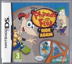 Nintendo Ds Disney Phineas and Ferb: Ride Again  (plays 3ds in 2D) BRAND NEW