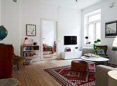 Stringhylla på ett helt nytt sätt! - i vardagsrummet med leksaker o böcker