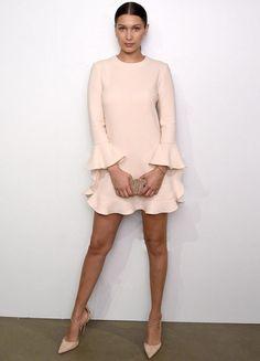 Bella Hadid está entre as celebs mais bem vestidas da semana.