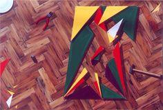 Ahora vuelvo, Reality Show Series, Acrylic on canvas / Acrílico sobre tela, 90 x 130 cm / 35,5 x 47 in, 2002, by Carlos Presto