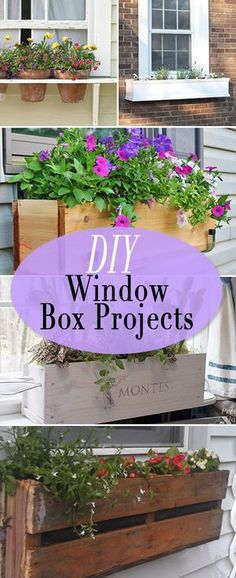 DIY Window Box Projects • Tutorials and ideas for bumping up that curb appeal, on a budget!