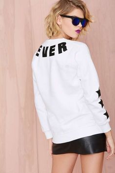Local Heroes Whatever Sweatshirt | Shop Clothes at Nasty Gal!