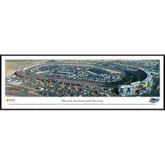 "Phoenix International Raceway 13"" x 40"" Standard Frame Panoramic"