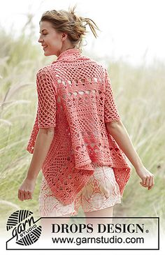 Ravelry: 170-26 Peach Dream pattern by DROPS design