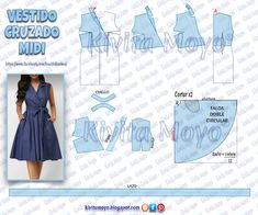 All Details You Need to Know About Home Decoration - Modern Formal Dress Patterns, Dress Sewing Patterns, Clothing Patterns, Sewing Clothes, Diy Clothes, Sewing Lessons, Kawaii Clothes, Sewing Basics, Vintage Patterns