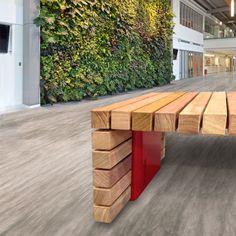 STREETLIFE Solid Staple Plus Bench #StreetFurniture #UrbanDesign #Staple
