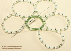 Easy Beaded Ornament Cover Pattern
