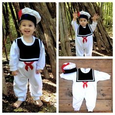 Childrens Halloween Costume, Stay Puft Marshmallow Man - Perfect if mom or dad is a Ghostbuster!!