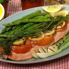 Michael Symon's Lemon Grilled Salmon #TheChew