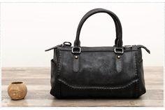47a8e27e62e7ff Handmade Full Grain Leather Tote Bag Women Shopping Messenger Bag F59