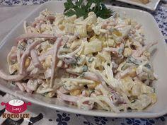 Kociołek Iwony: Sałatka szynkowa z ananasem Potato Salad, Sushi, Cabbage, Food And Drink, Appetizers, Potatoes, Vegetables, Ethnic Recipes, Party Ideas