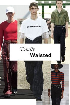 You know what they say, the higher the rise, the cooler the trouser—and thanks to the likes of Rick Owens, Dries Van Noten, and Sacai, waistbands are creeping into empire waist territory.