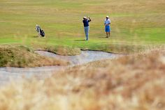 #USOpen practice round at Chambers Bay in University Place