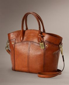 Renee Tote from Frye / $528....by the way, I would never, in a million years pay that much, or even a quarter of that price for a purse. Just like the looks of it a lot.