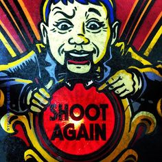 stephenwilkes: Shoot Again! #Funhouse #Arcade #Pinball #picoftheday #iphoneonly (via TumbleOn)