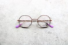 BRAND : Seacret Remedy MODEL : S-021W〝Yolande〟 SIZE : 46□22-140 COLOR : 02 Purple marble / Rose gold PRICE : ¥32,000+tax made in Japan