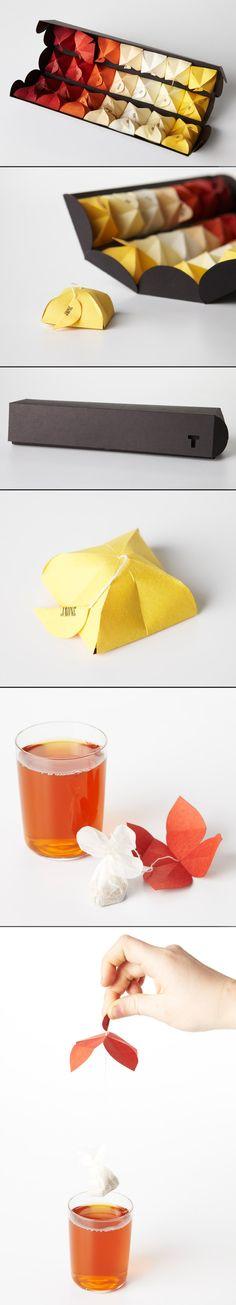 origami para o chá!! Tea origami