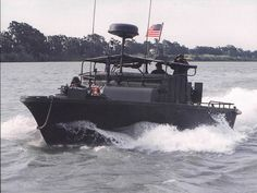 """Naval Special Warfare Boat Teams trace their origins to the """"Brown Water"""" naval force, established in 1965, to support American military efforts during the Vietnam conflict. Description from sofrep.com. I searched for this on bing.com/images"""