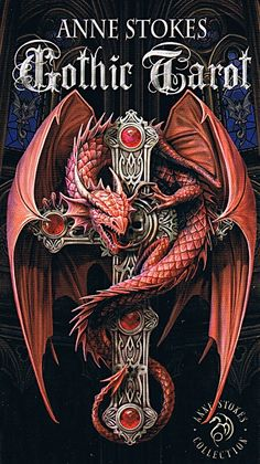 Fournier Gothic Tarot by Anne Stokes by Lo Scarabeo Anne Stokes, Chinese Tattoo Designs, Dragon Tattoo Designs, Red Dragon, Dragon Art, Dragon Claw, Celtic Dragon Tattoos, Lenticular Printing, Dragon Cross Stitch