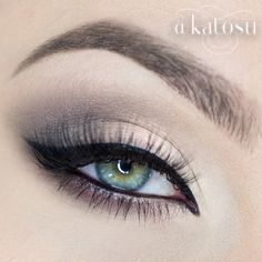 Neutral and simple make up for every eye color. @anastasiabeverlyhills Brow Duo Powder in Medium Brown and Brow Fix, @velourlashesofficial in Whispie Me Away, Meet Matt(e) Nude palette by the Balm and Lasting Drama gel liner by Maybelline ✌️ - @Katarzyna Gajewska- #webstagram