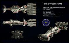 CR-90 Corvette - http://unusualsuspex.deviantart.com/gallery/