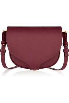 Sophie hulme barnsbury mini leather shoulder bag, women's