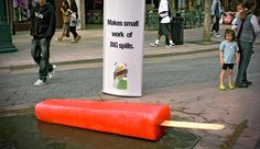What is Ambient Advertising? Guerilla Marketing Photo