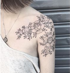I don't know why I like flower tatoos.