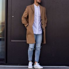 Moda Outfits, Urban Fashion, Fashion Moda, Men's Fashion, Fashion Outfits, White Outfit For Men, White Jeans Outfit, Stylish Men, Men Casual