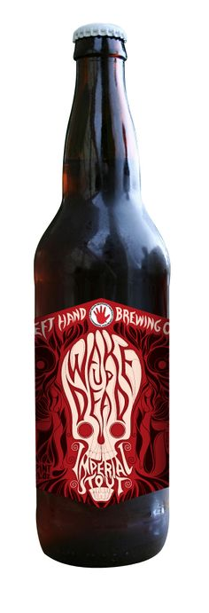 #Stout month. Beautiful packaging - Left Hand Wake Up Dead imperial stout