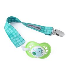 Pacifier Case Premium/Ã/'/Â/Quality Modern Designs Universal Holder Leash for Boys and Girls Teething Toy or Soothie Baby Shower Gift Set Silicone Pacifier Clip by Dodo Babies Pack of 2