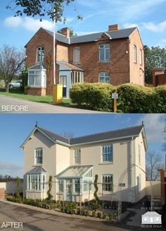 Victorian remodelling exterior design by Back to Front Exterior Design